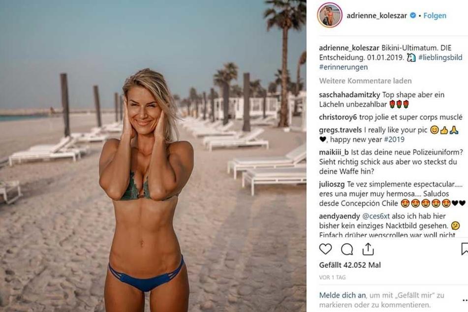 Ihre Instagram- und Social-Media-Präsenz hat sie im vergangenen halben Jahr deutlich erhöht.