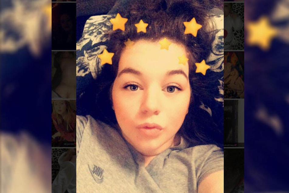 Courtney May (20) auf einem Facebook-Foto.