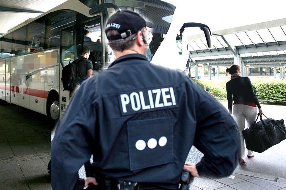 Die Polizei konnte einen Mann festnehmen, der an einem Busbahnhof mehrere Kinder belästigte.