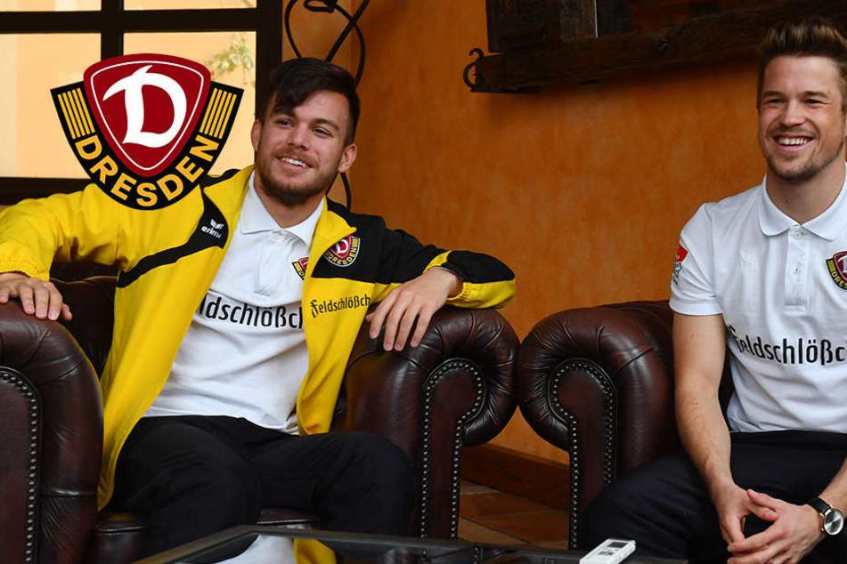 Ösi-Duo will zusammen für Dynamo spielen, egal wo!