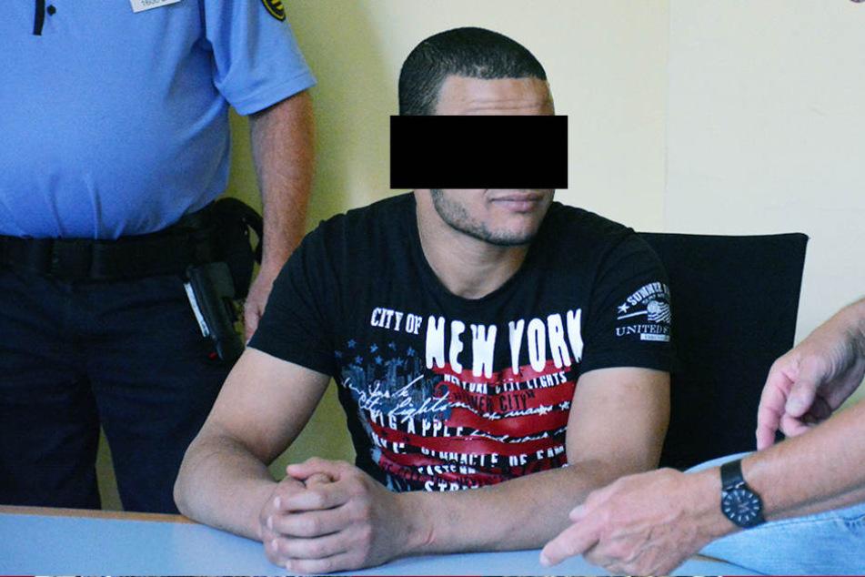Angeklagt: Karim F. (25) soll Drogen an Kinder verkauft haben.