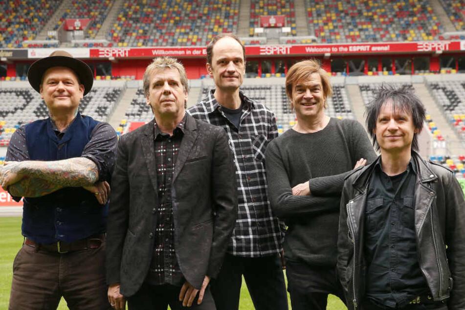 Die Toten Hosen aus Düsseldorf traten am Samstag erstmals in China auf (Archivbild).