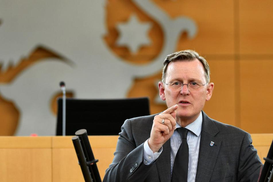 Bodo Ramelow (Linke) will keine neue Stromtrasse in Thüringen.