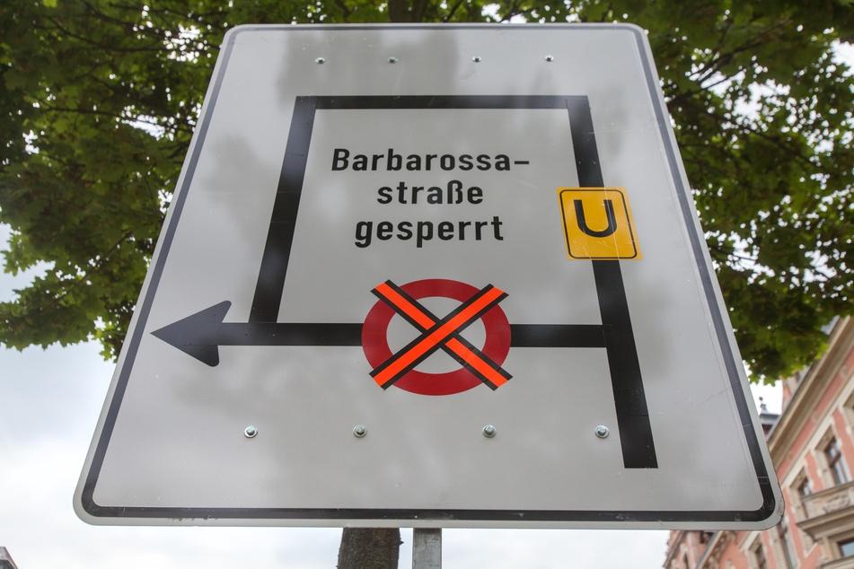 Chemnitz: Achtung, hier wird es Stau geben: Wochenlange Vollsperrung auf dem Kaßberg