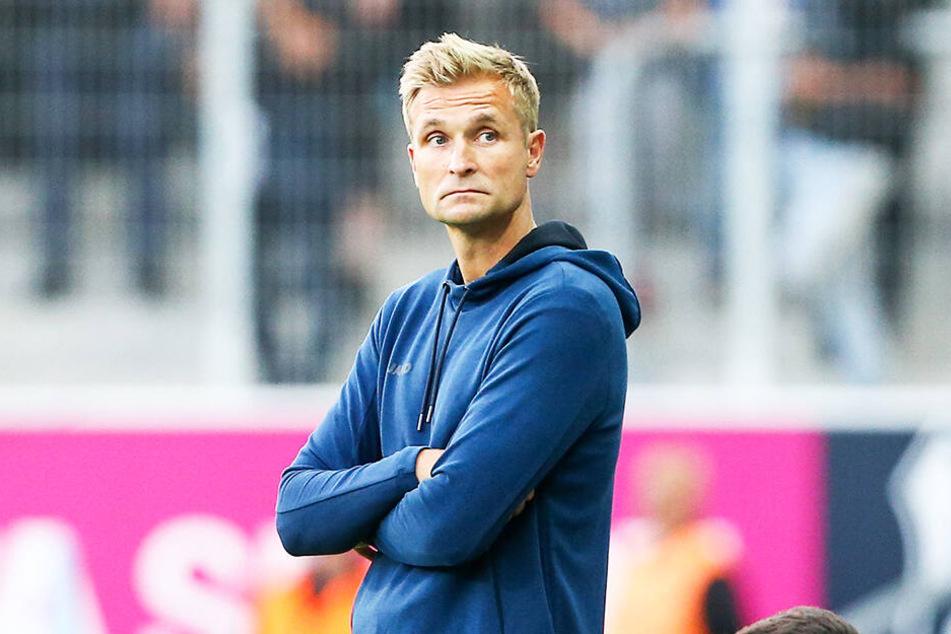 CFC-Coach David Bergner muss mehrere Wochen auf Philipp Sturm verzichten.