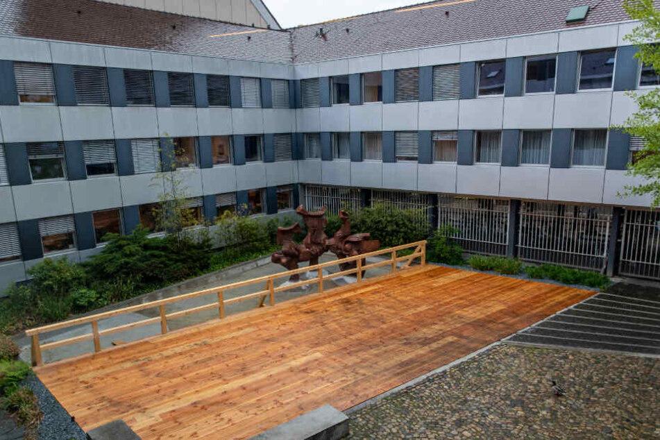 Das Landgericht in Freiburg.