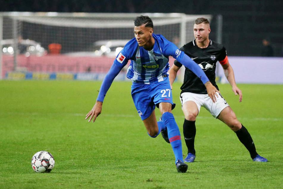 Es kommt auch zum Wiedersehen mit dem Ex-RB-Stürmer Davie Selke, der seit 2017 bei Hertha spielt.