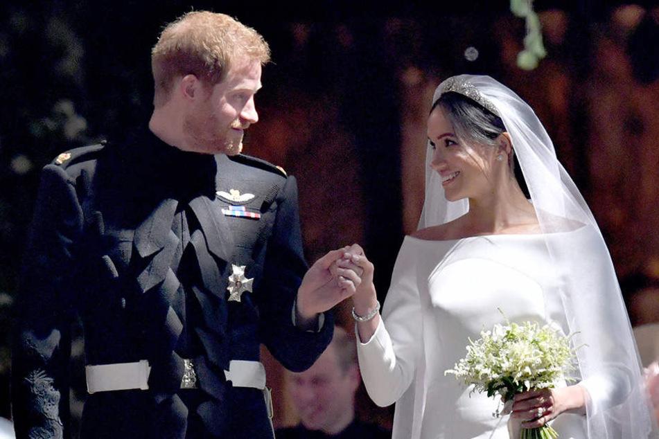 Prinz Harry und Herzogin Meghan von Sussex.