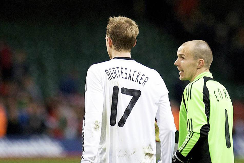 Beide spielten auch zusammen in der Nationalelf.