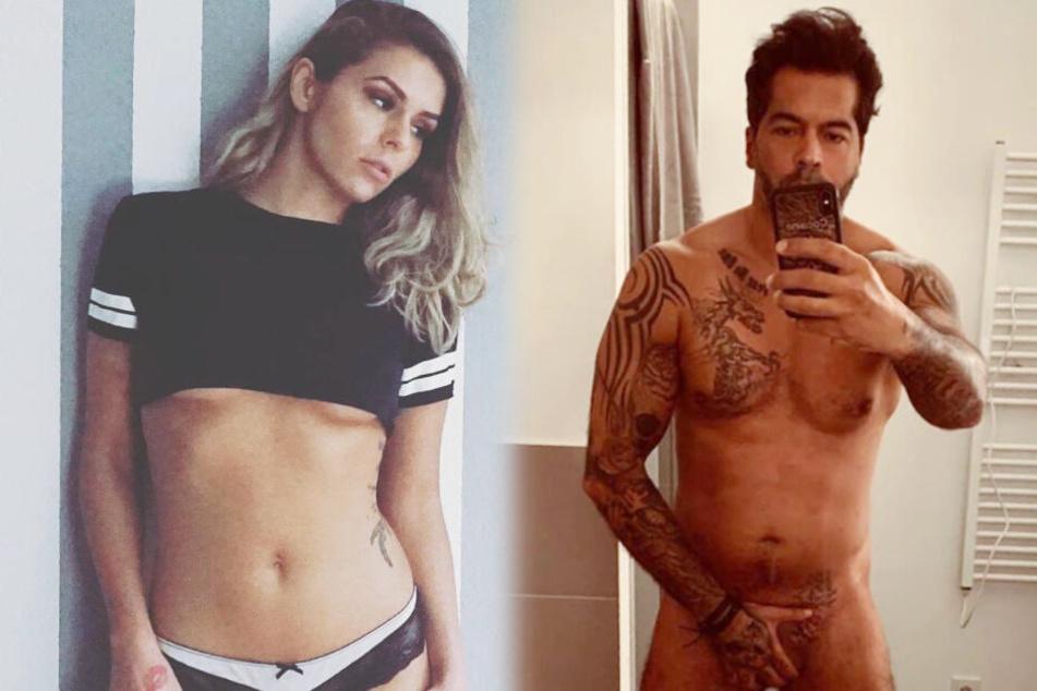 Bachelor-Babe Janine Christin guckt bei Aurelios Penis-Foto genauer hin