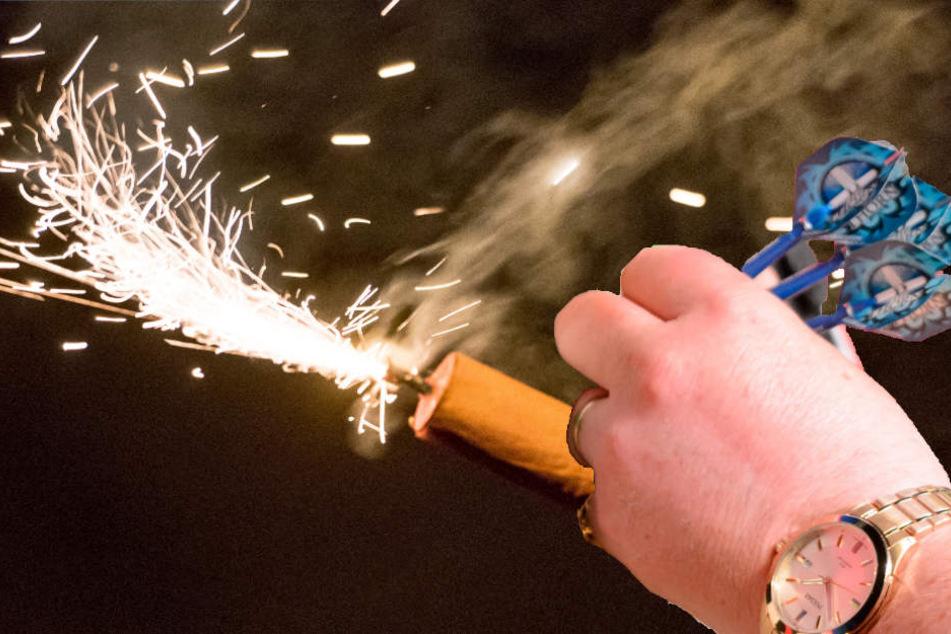 Unfassbar! Sprengstoff-Anschlag auf Dartclub