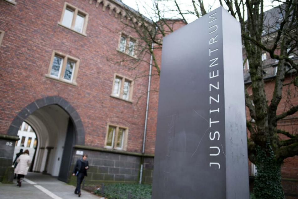 Das Justizzentrum in Aachen.