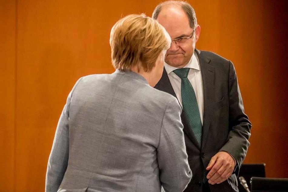 Angela Merkel rügte Christian Schmidt für sein Verhalten.