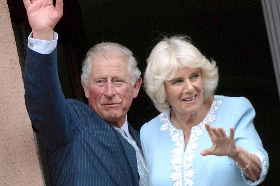 Der britische Thronfolger Prinz Charles und seine Ehefrau Camilla besuchen Bayern.