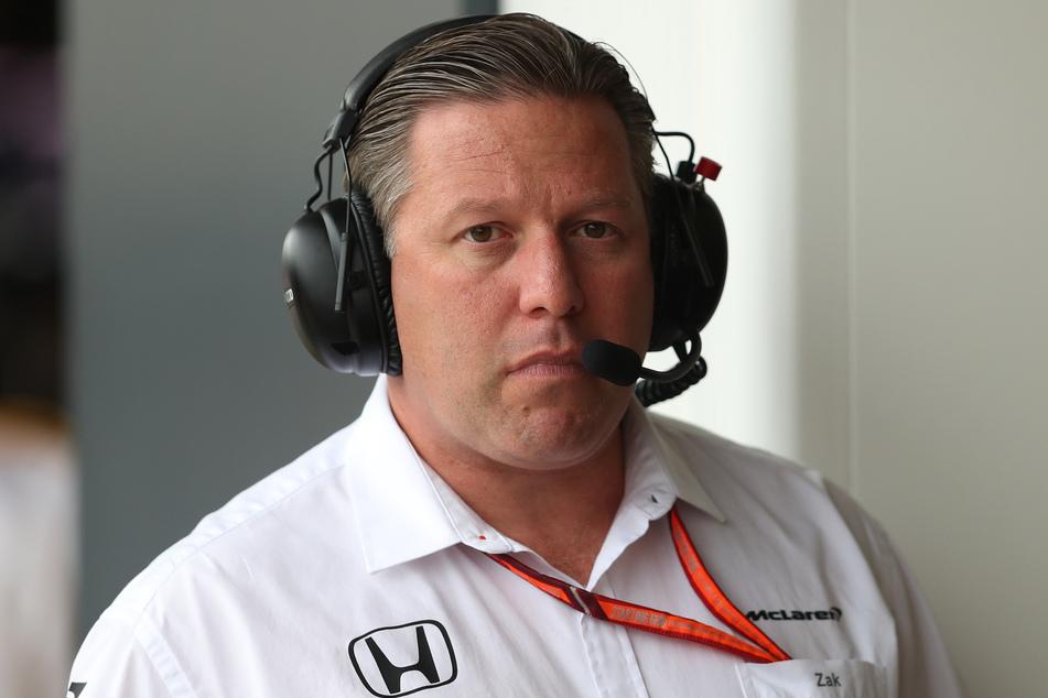 McLaren-Geschäftsführer Zak Brown (49) (Archivbild).