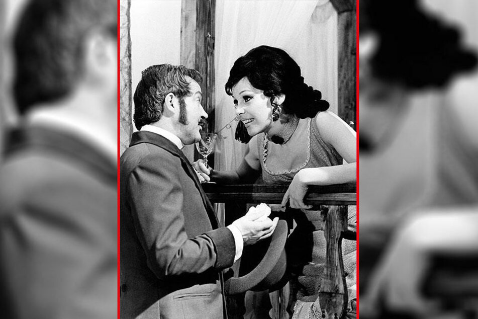 """1971 verzaubert die Diva in """"Reiche Bräute"""" am Schauspielhaus."""