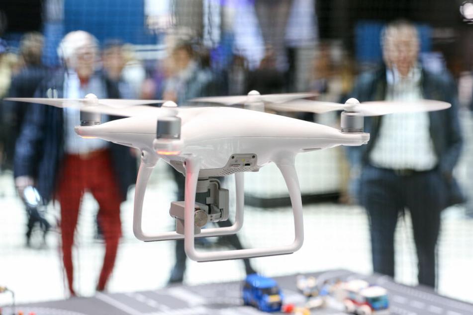 Drohnen sollen in Zukunft vermehrt zum Einsatz kommen.