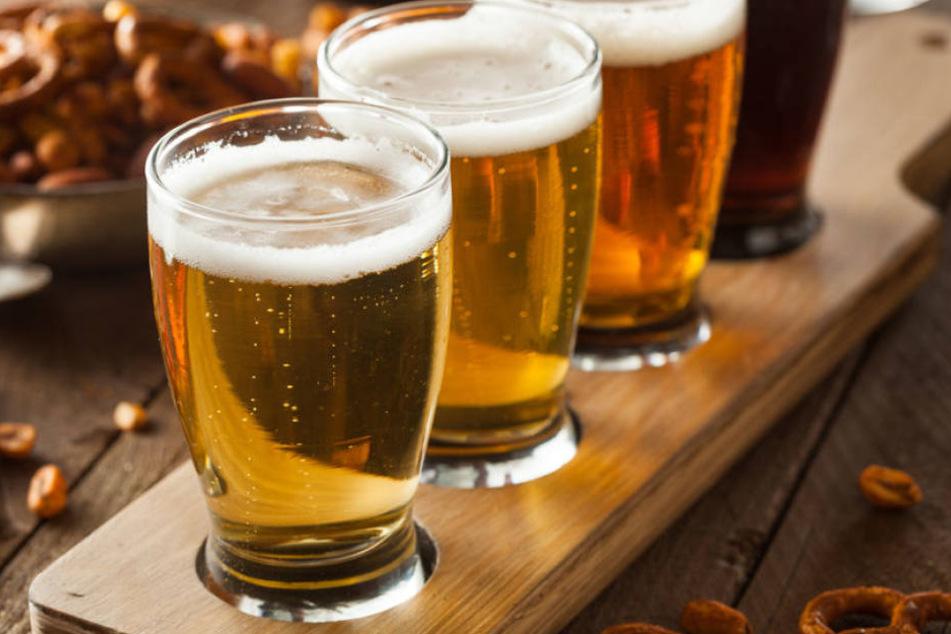 Warmes Bier wirkt antibakteriell und hilft bei Erkältungen.