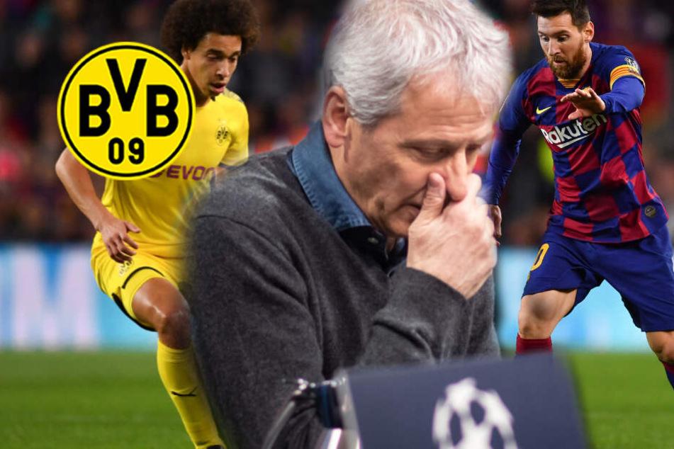 Bitter für den BVB: FC Barcelona lässt Lionel Messi plus fünf zu Hause!