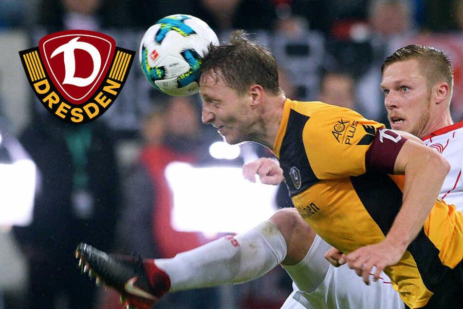 """Dynamo-Kapitän Hartmann macht klar: """"Das muss jetzt der Maßstab sein!"""""""
