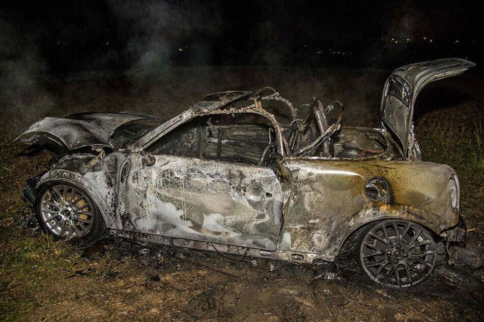 Wieso brannte das Auto der Ehefrau völlig aus?