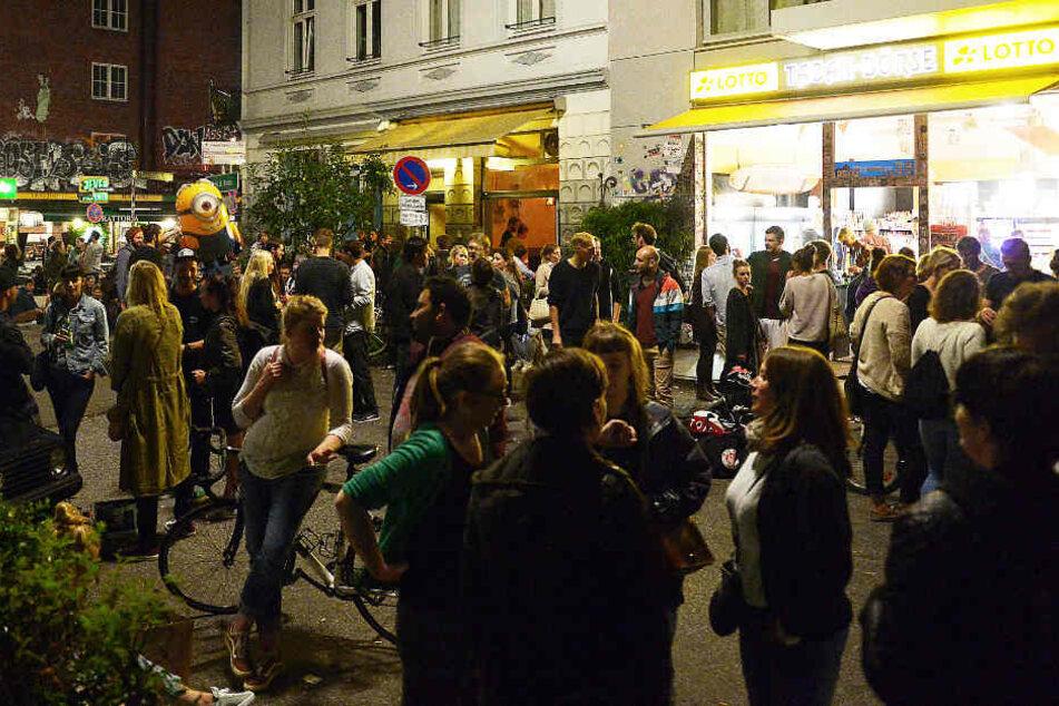 Das Cornern ist in den Hamburger Szenevierteln besonders beliebt.
