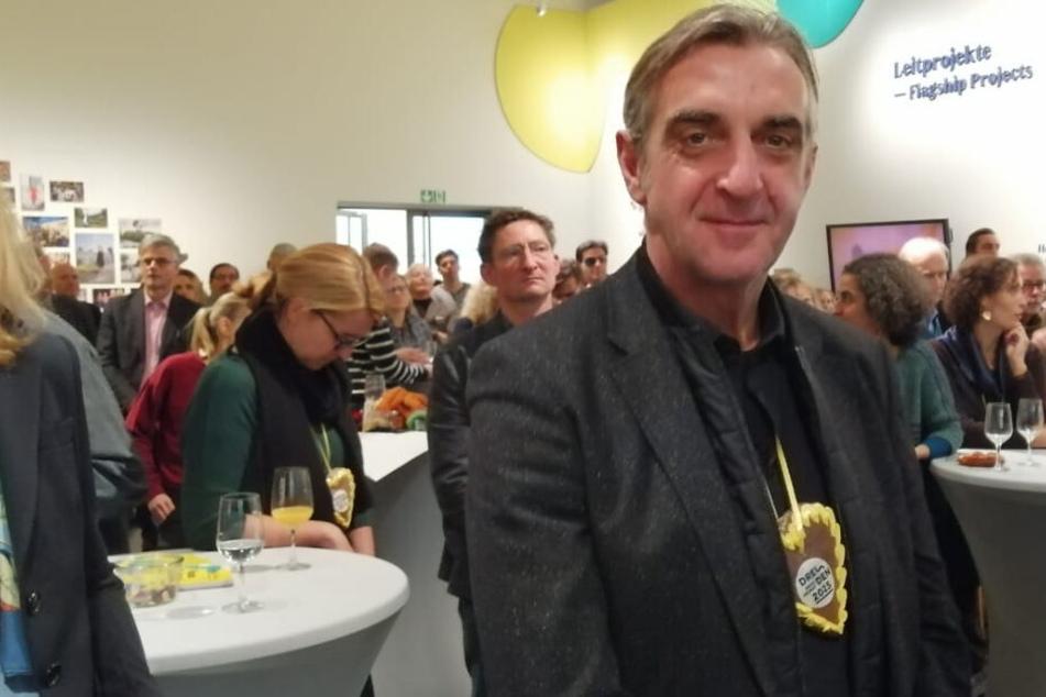 Gespannt auf die Entscheidung und guter Dinge: Ralf Minge (59, Sportdirektor Dynamo)