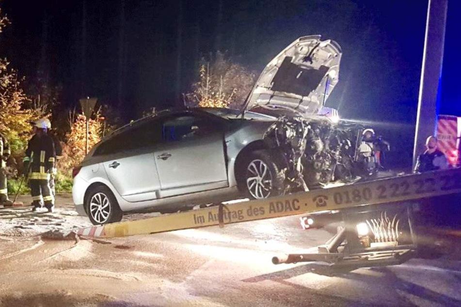 12.000 Euro soll der Gesamtschaden des Unfalls betragen.
