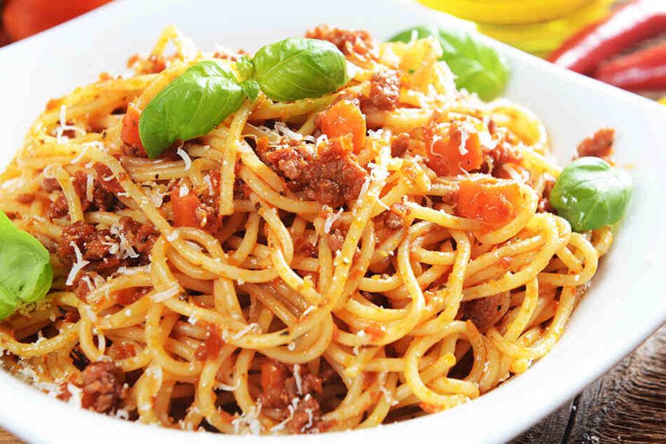 Spaghetti mit Hackfleisch. Die einen lieben es, andere hassen es.