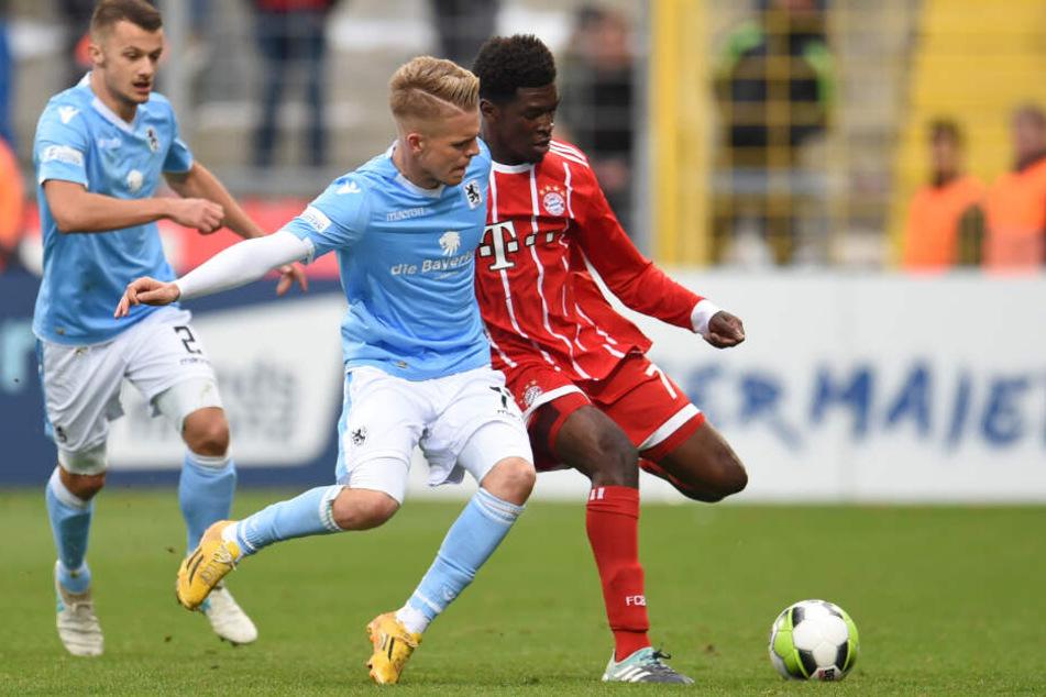 Kwasi Okyere Wriedt ist in der zweiten Mannschaft der Bayern eine wichtige Stütze.