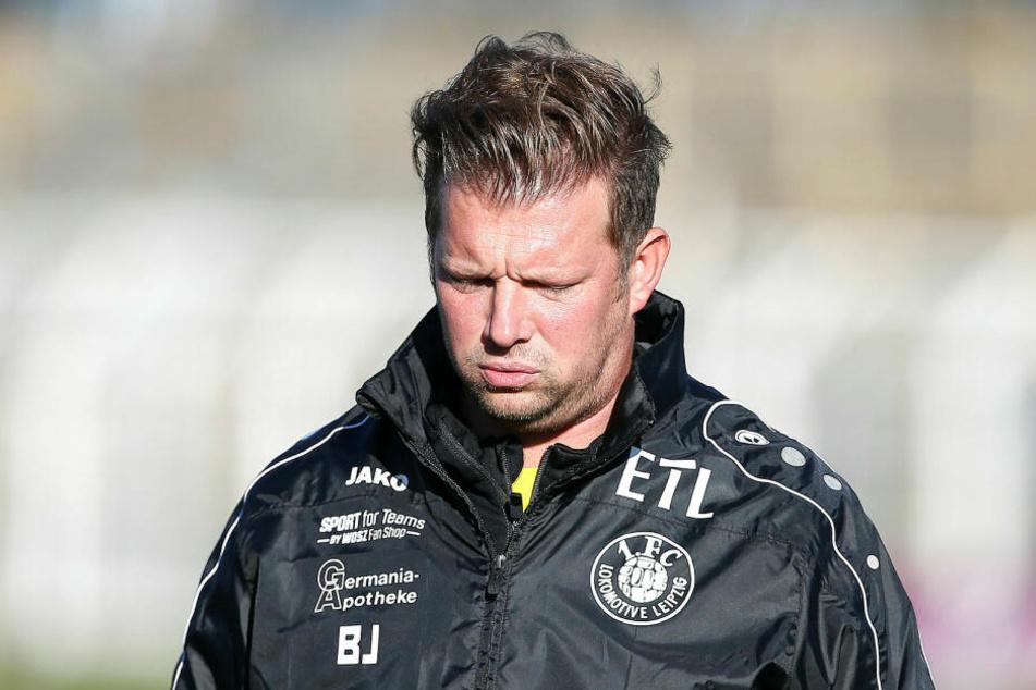 Seit der Rückrunde ist Björn Joppe Teammanager bei Lok Leipzig. Unter dem 40-Jährigen feierte der FCL in zwölf Ligaspielen sieben Siege.