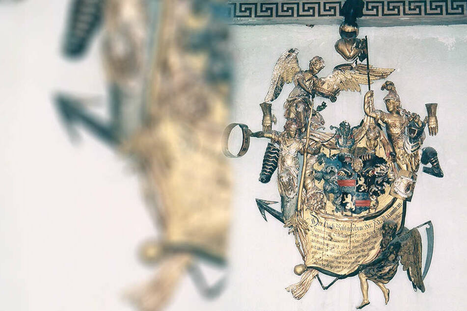 Das edle Wappen ist mehr als 300 Jahre alt, geriet aber zwischenzeitlich in Vergessenheit.