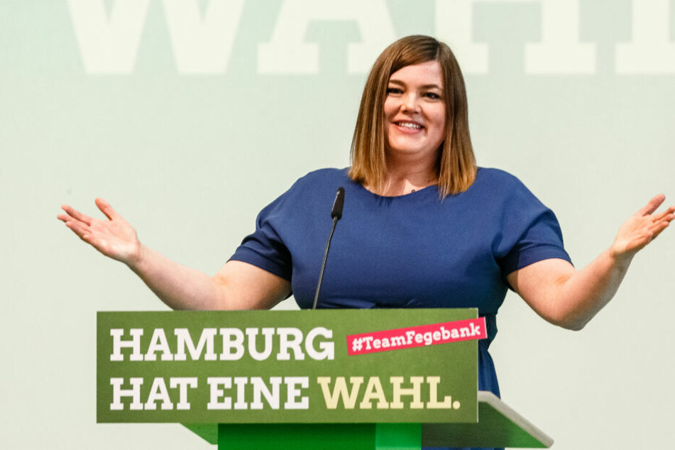 Katharina Fegebank wurde mit großer Mehrheit zur Bürgermeister-Kandidatin der Grünen für die Wahl 2020 bestimmt.