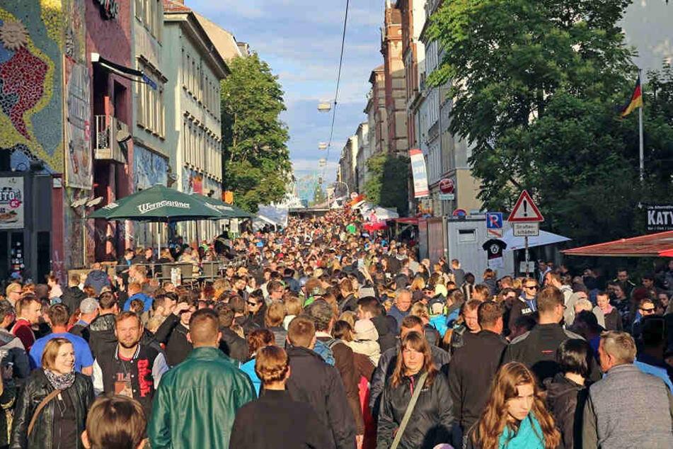 Spiele, Bühnen, Menschenmassen: Jährlich besuchen Hunderttausende die BRN.