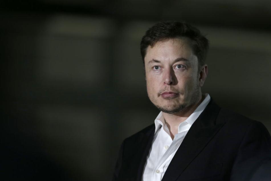 Elon Musk äußerte sich in unangebrachter Weise.