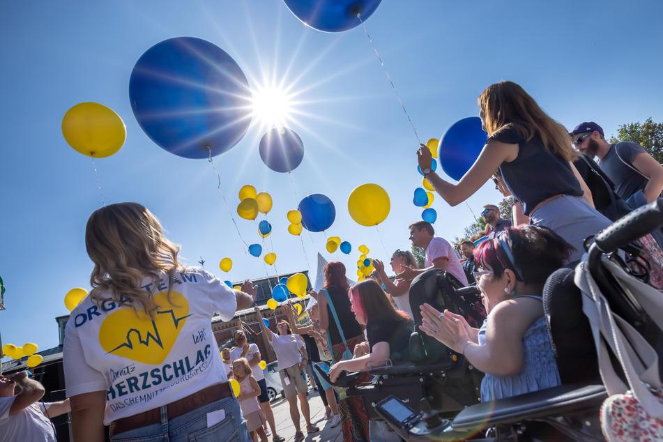 Nachdem es im August kurzfristig abgesagt wurde, kann das Herzschlag-Festival nun mit schönem Wetter stattfinden.