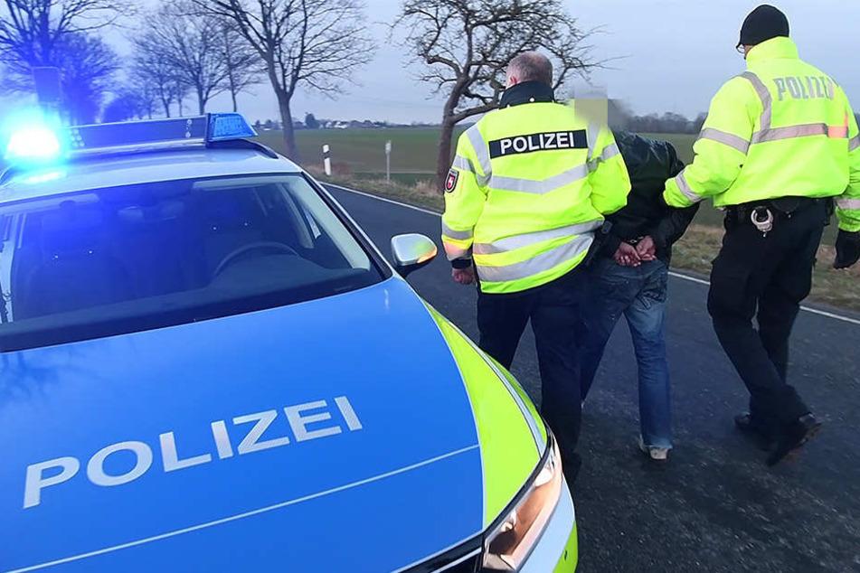 Nach einer wilden Verfolgungsjagd mit der Polizei konnte ein 20-jähriger Junkie in Grimma gestellt werden. (Symbolbild)