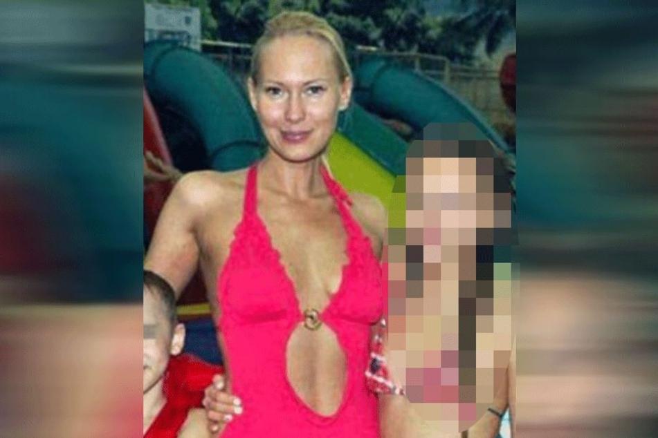 Irina Gladkikh (35) mit ihren Kindern.