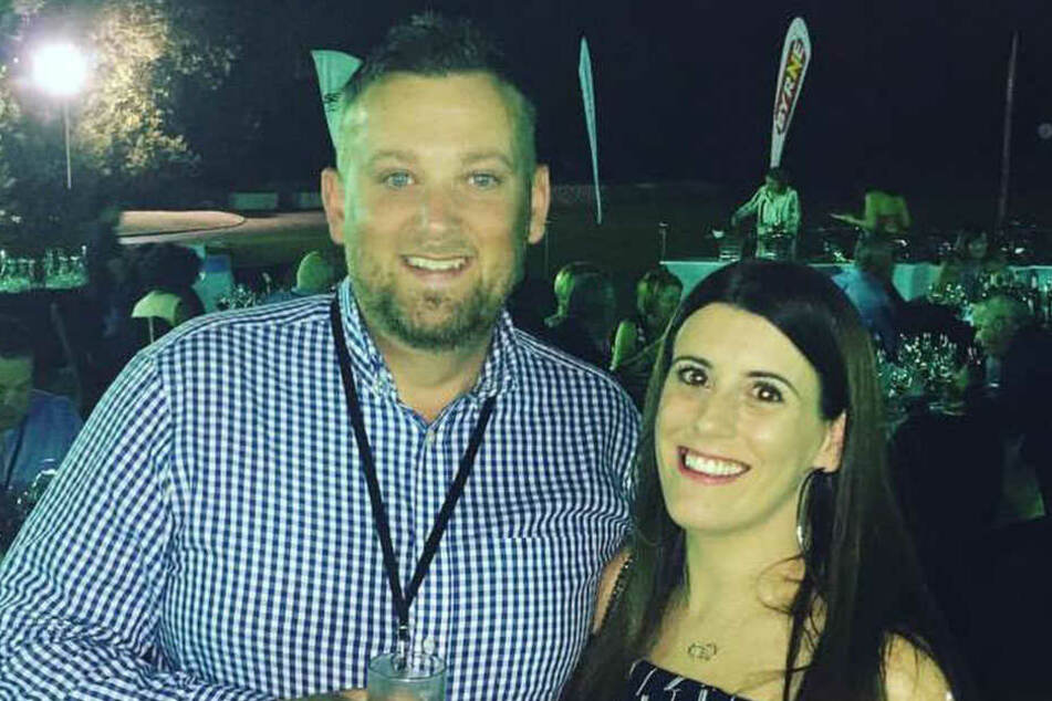 Steven Ford mit seiner Frau Samantha.