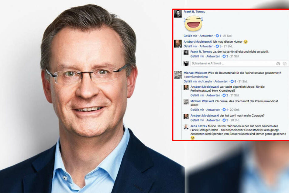 So trollt die Leipziger CDU den SPD-Wahlkampf auf Facebook