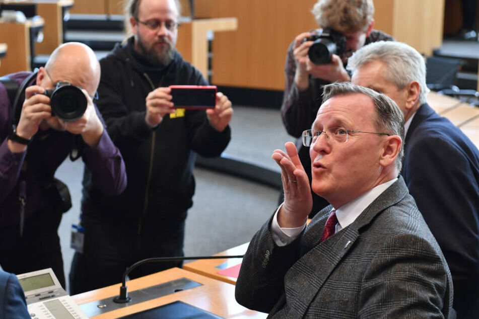 Nach chaotischen Tagen in Thüringen: Bodo Ramelow macht seiner Frau süße Liebeserklärung