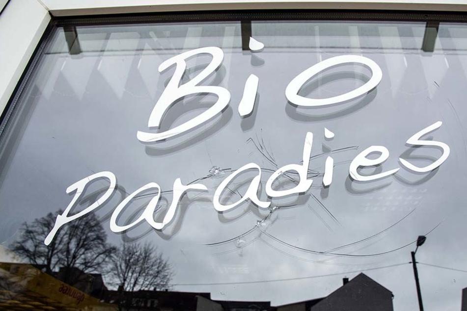 Im Bio-Paradies machten sich jugendliche Einbrecher auf die Suche nach Beute.