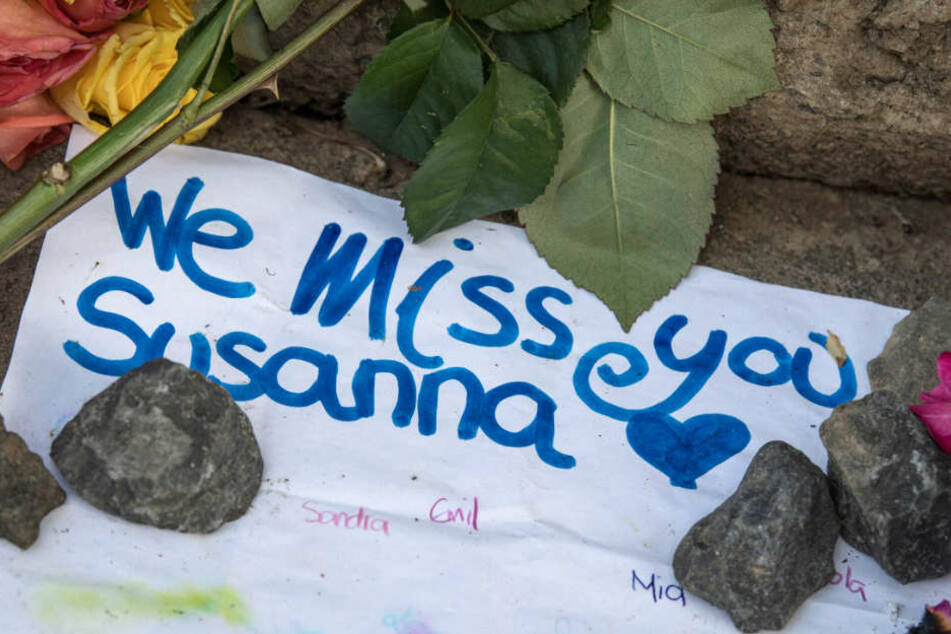 Auch so kann das Gedenken an die getötete Susanna aussehen.