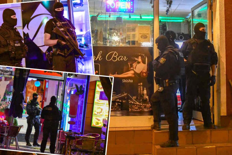 Nach Schießerei in Magdeburg: Polizei-Großeinsatz in Shisha-Bars