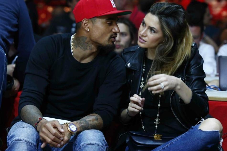 Das Traumpaar bei einem Basketballspiel in Mailand. Wird es Fotos der beiden demnächst nicht mehr geben?