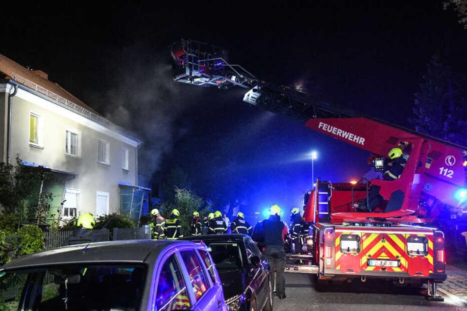 Wohnungsbrand in Potsdam: Bewusstlose Person stirbt wenig später im Krankenhaus
