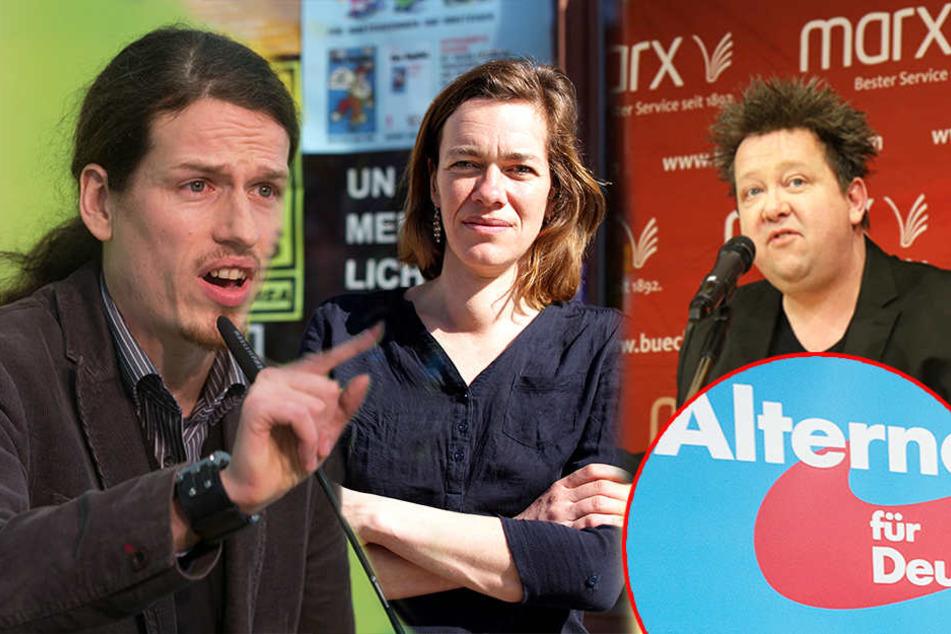 Leipziger Aktivisten verbünden sich im Kampf gegen AfD