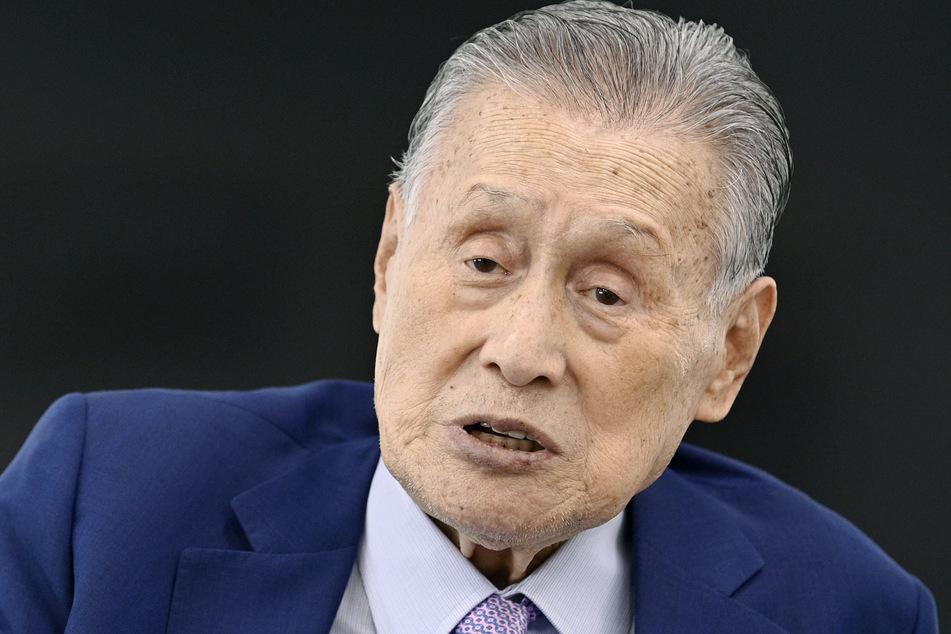 Yoshiro Mori, der Präsident des Organisationskomitees der Olympischen Spiele in Tokio.