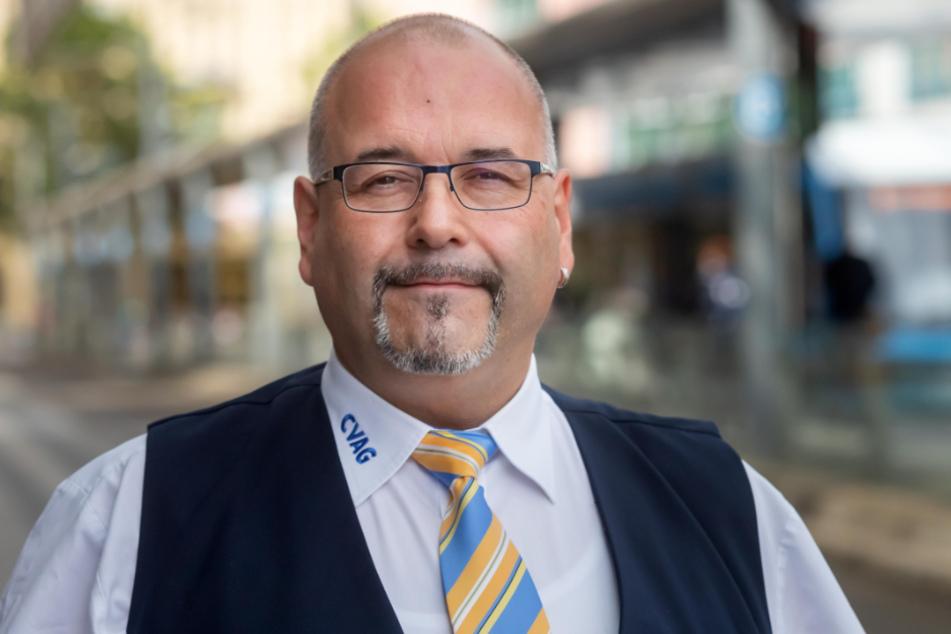 """60 Euro Bußgeld sind okay"", sagt CVAG-Fahrer Frank Hähnel (53)."