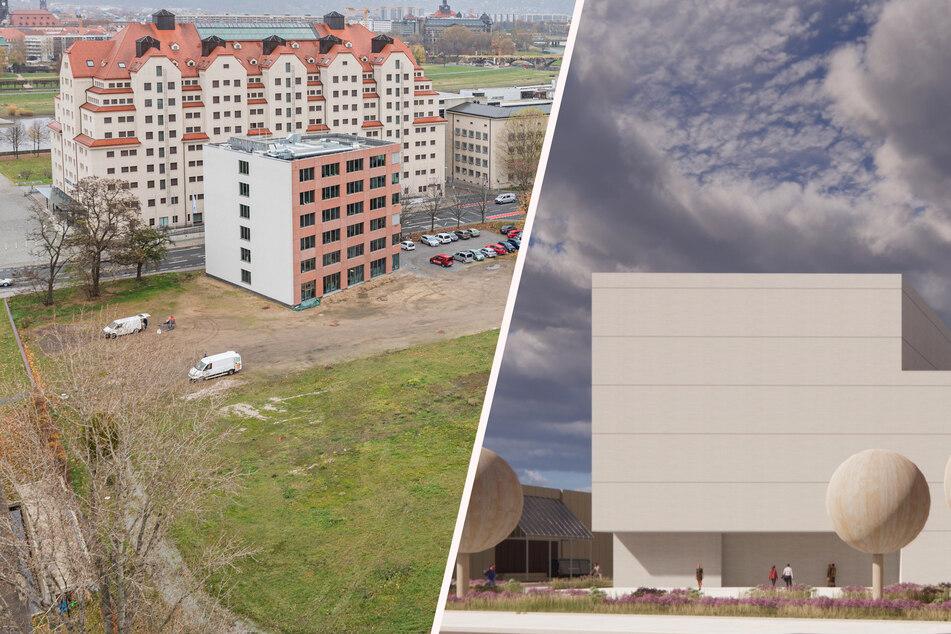 Dresden: Neues Behördenzentrum am Landtag: Planer schrumpfen das Hochhaus